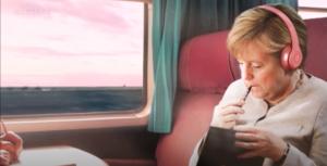 Bildausschnitt aus Merkelwave-Video